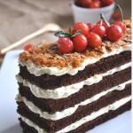 可可蛋糕的做法