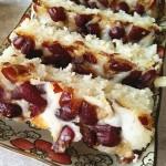 红枣粘米发糕
