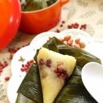 蜜枣红豆花生粽子