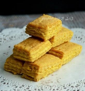 咸蛋黄饼干