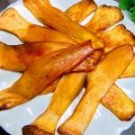 烤杏鲍菇片