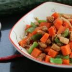 胡蘿卜雞丁