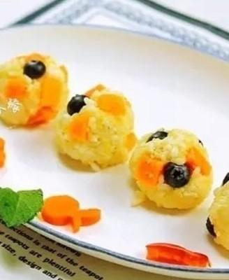 榴莲水果香饭团
