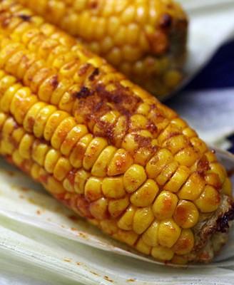 烤蜜汁玉米