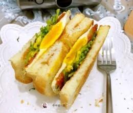 豆苗三明治