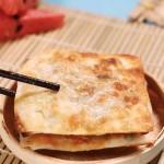 馄饨皮葱油饼