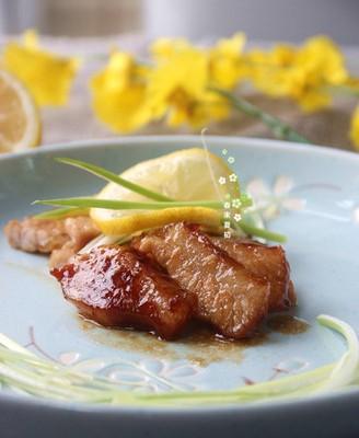 照烧汁烤猪颈肉