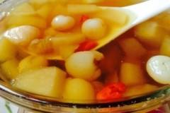 桂圆苹果甜汤