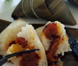 传统江米红枣粽子