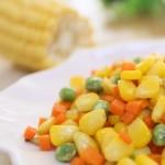 寶寶輔食食譜 松子炒玉米