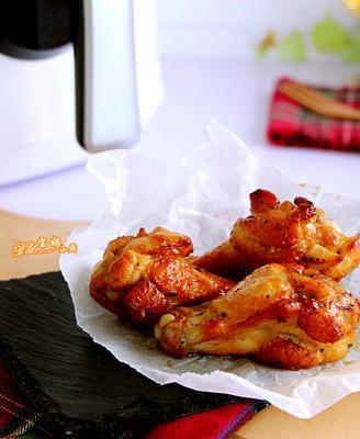 法式黑椒烤翅根
