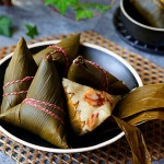 花生腊肠粽