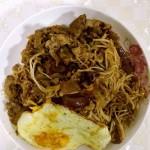 黑椒汁肥牛金针菇