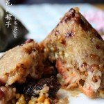 广式香菇花肉粽子(超详细,两种包法)