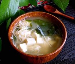 鳗鱼干味增汤