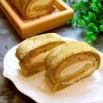 抹茶大理石纹蛋糕卷