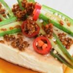 豆腐秋葵的完美结合