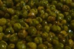 脆炸鲜豌豆