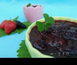桑葚草莓果酱