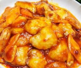 甜辣酱炒鱼片