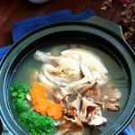 舞茸燉雞湯