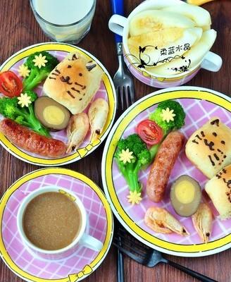 童趣早餐盘