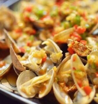 蒜蓉烤花蛤