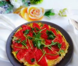 蛋烘西红柿