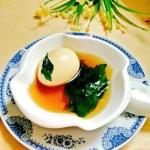 红糖艾草煮鸡蛋