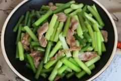 蒜薹小炒肉