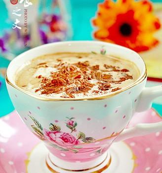 奶油摩加咖啡