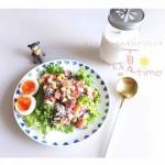 鹰嘴豆藜麦沙拉&香蕉奶系