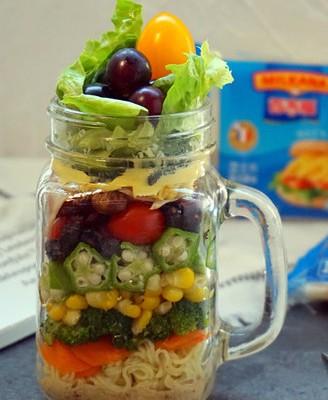 沙拉罐便当#美的智能冰箱#