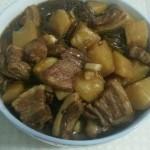 土豆粉条红烧肉