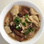 红烧肉炖干豆腐