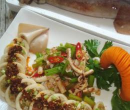 糯香鱿鱼—鱿鱼两吃