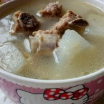 白萝卜排骨汤