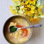 西红柿土鸡蛋汤
