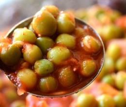 番茄烩豌豆