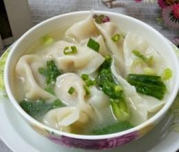 菌菇瘦肉水饺
