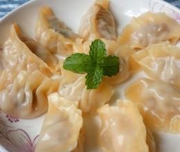 莲藕肉蒸饺