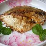 煎烤小鲳鱼