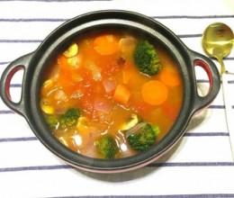 番茄时蔬汤
