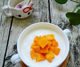 面包机版芒果酸奶