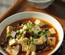 毛豆米双色豆腐#美的智能冰箱#