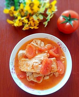 番茄焖豆腐