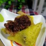 蜜豆黄米粽