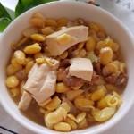 黄豆嘴炖豆腐