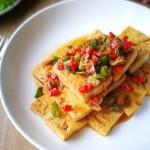 虾皮彩椒豆腐