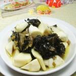 酸菜煮茭白